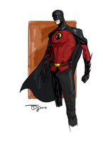 Red Robin Redesign by TheoDJ