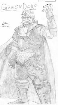 SSBB - Character - Ganondorf by Wesker-Wolf