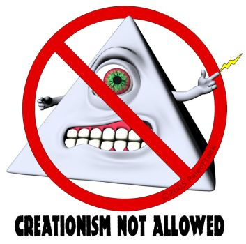 Creationism not allowed by PaleoFreak