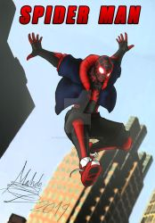 Miles Morales SPIDER MAN by TOA316XDNUI-OFFICIAL