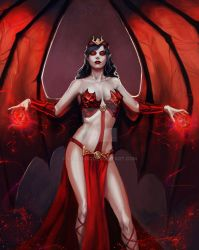 Mara The Red Witch.. Angel Of Destruction! by StalinDC