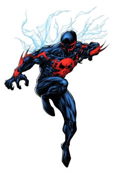 Spider-Man 2099 - Lummage colors by SpiderGuile