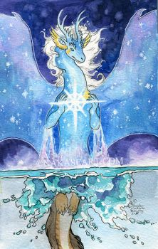 Astral Dive by NakaseArt