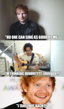 No one can sing good as ed sheeran except....... by aiko-sweetgirl
