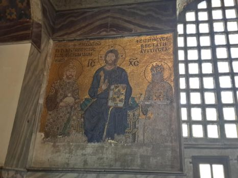 The Christ Deesis Mosaic by themartianx