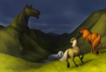 The Valley of the Mare by Povetris