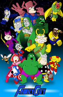 Family Guy Avengers by Superbdude1