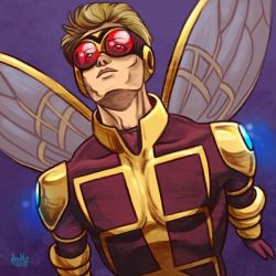 Daily Sketches Hank Pym the Wasp by fedde