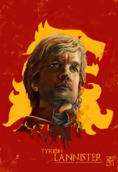 Tyrion Lannister by octaviogfx