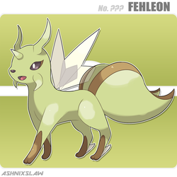 ??? Fehleon by AshnixsLaw