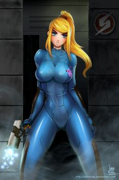 Zero Suit Samus - Animu by transfuse