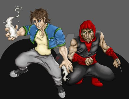 DH Team-up II by womit-green