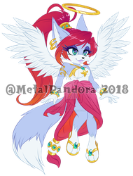 ADOPT: Angel fox (CLOSED) by MetalPandora