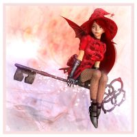 Little Red Riding Witch by Lokai2000