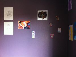 My Art Wall: 2 by ElyssaJM