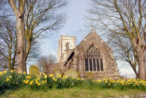 All Saints', Easington by moonhare77
