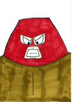 Juggernaut Sketch Card by maxwestart