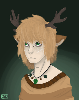 Lone Fawn by foryouistellify