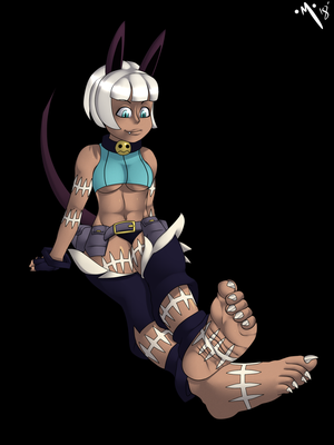 Ms. Fortune is Thinking by MonsterInfight