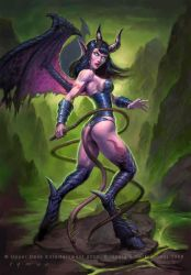 Warcraft - Succubus by namesjames