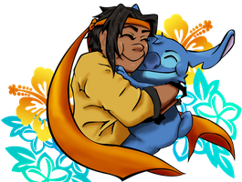 Hunk and Stitch by Nibbz