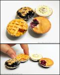Miniature Pie Magnets by Bon-AppetEats