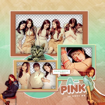 296|A PINK|Png pack|#03| by happinesspngs
