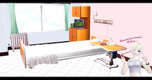 [MMD] Hospital Room 2 DL ~ by o-DSV-o