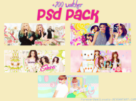 +200 Watcher Psd Pack! by ForeverDemiLovato
