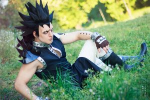 Stay outta my way - Gajeel cosplay by Hayato-X-Flame
