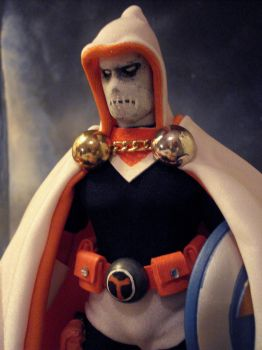 Taskmaster close up by randomaxedesign