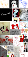 Homestuck - Art Dump 2 by W-i-s-s-l-e-r