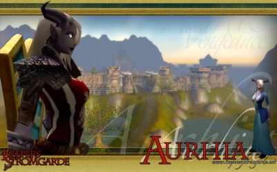 Aurhia Rumbleshot Desktop Wallpaper by Aurhia