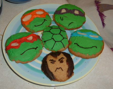 TMNT Cookies by Fuwa2-Kyara