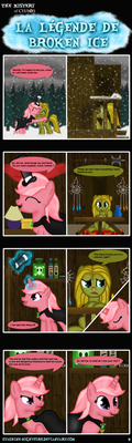 MLP: La legende de Broken Ice page 9 ENG by stashine-nightfire