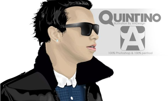 Quintino Illustration by AHDesigner