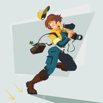 TMNT April O'Neil by ugoyak