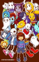 Undertale: Stay Determined by MimiChan25