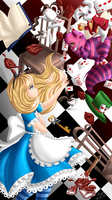 Wallpaper Alice in Wonderland by Hiyori-Yamada