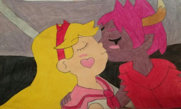 Star and Tom by Roxasfan23