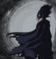 Tokoyami by Chaotic--time