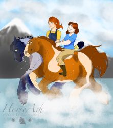 Galloping on air by HorseAsh