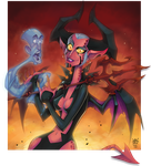 Demoness by GhostHause