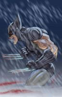 X-Force Wolvie by Covens-Oz by ChrisSummersArts