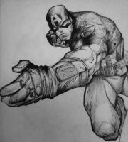 Captain America by AlfredoP