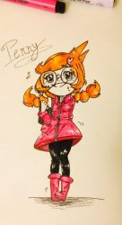 omg Penny tho by Rin-the-orangemaster