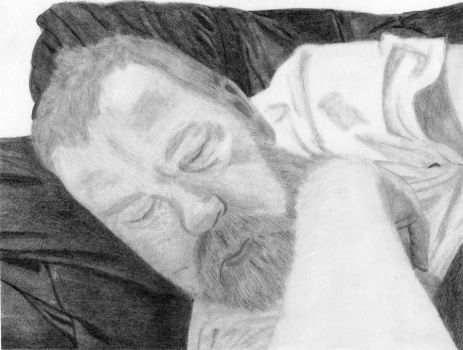 Sleeping Father by meilssa26