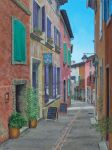 Sunshine and Shadows, Roussillon, France by FredaSurgenor