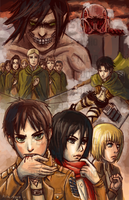 Attack on Titan by Pew-PewStudio