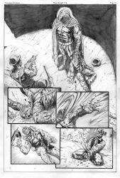 Moon Knight sample page 5 by cimoart